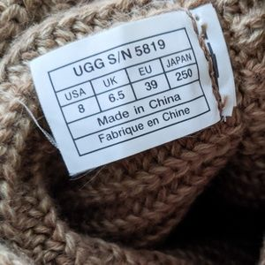 UGG Shoes - UGG Tan Cardy Boots - As Is SALE